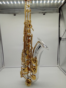Nuovissimo Yanagisawa Tenor Saxophone T-9937 T-Wo37 Silvering Gold Key Gold Sax Professionale Bocchino Patch Patch Pads Reeds Bend Collo