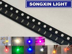 3000pcs 측면 SMD 0805 (0802) LED 화이트 레드 그린 옐로우 ICE 블루 웜 화이트 옐로우 그린 오렌지 핑크 퍼플 발광 다이오드