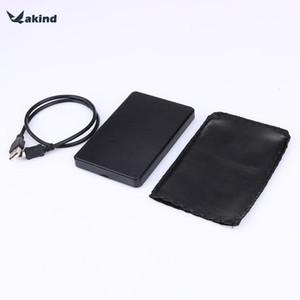 جودة عالية ABS البلاستيك سليم المحمولة 2.5 HDD ضميمة USB 2.0 حالة القرص الصلب الخارجي ساتا محركات الأقراص الصلبة حالة الأقراص الصلبة
