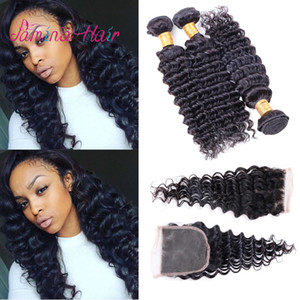 Grade 8a cuticle aligned virgin raw malaysian deep curly unprocessed 100 human extension hair weaving bundles