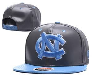 En gros 2017 Nouvelle Université de Caroline du Nord NCAA Snapback Chapeaux Marque USA College Bande Dessinée Logo Réglable Caps De Mode Hip Hop Chapeaus