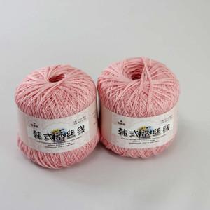 무료 배송 2BallsX50g 고품질의 부드러운면 100 % 1-Lly 또는 LACE Crocheted Yarn B