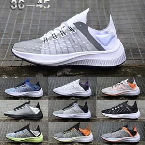 Saydam Exp X14 Wmns racer bayan erkek spor koşu ayakkabıları siyah Beyaz turuncu EXP-X14 Sneakers Yakınlaştırma Fly Eğitmenler spor ayakkabı 36-45