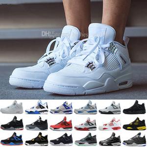 Novos Sapatos 4 IV Eminem Basquete Para Homens Denim Preto Undefeated Encore Azul Verde Oliva Versão Dos Homens Por Atacado Tamanho 41-47 EUA 8-13