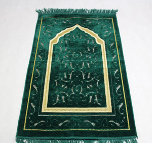 2017 nuova coperta di Preghiera Unico MashaAllah In Viaggio Islamico Musulmano Preghiera Tappeto / Tappeto / Tappeto Salat Musallah 70 * 110 cm