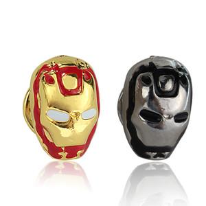 Pin superhéroe Broches insignia Ironman Marvel DC Comics Accesorios de joyería