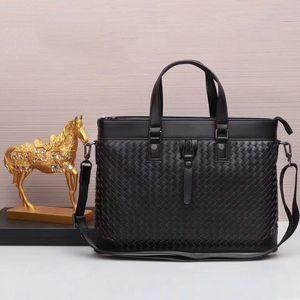 2018 New arrival homens designer de saco de marca famosa sacos de bolsas de couro genuíno maleta saco de computador grande capacidade