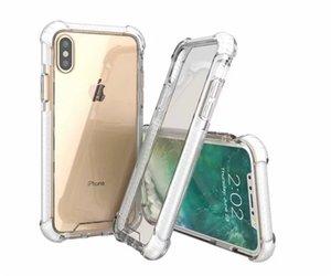 Antidetonante per Four Corners per iPhone X XS MAX 6 7 8 Half-avvolto caso di telefono cellulare di modo di caso Defender