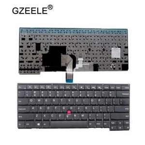 GZEELE NOVO Teclado para LENOVO IBM T440S T440P T440 E431 T431S E440 L440 T450S T450 T460 EUA teclado do portátil sem Retroiluminado PRETO