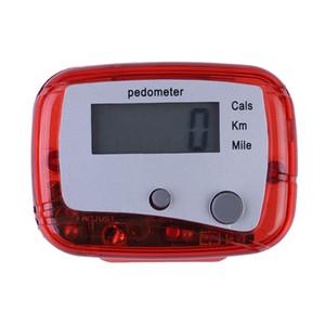 새로운 다기능 보수계 도보 운동 칼로리 보수계 카운터 하이킹 스텝 카운터 휘트니스 장비