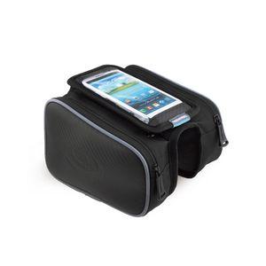 Bisiklet Akıllı Telefon Çanta 5.0 / 5.5 inç Dokunmatik Ekran Üst Çerçeve Tüp MTB Yol Bisikleti Bisiklet Depolama Bycicle Bolsa 12813