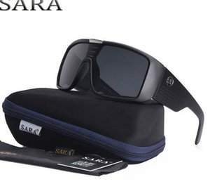 SARA Vintage Dragon Sunglasses Мужские спортивные очки Goggle Солнцезащитные очки 7 цветов Windproof Shield Frame Steampunk Оригинальный чехол oculos gafas