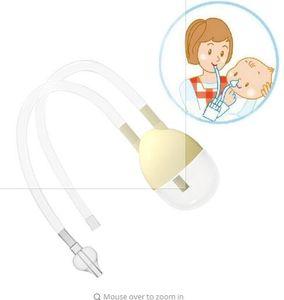 New Born Baby Sicherheit Nasenreiniger Vakuumsauger Nasensauger Bodyguard Grippeschutz Zubehör BM Nasensauger