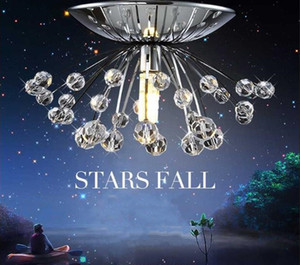 Free shipping hot sale design modern crystal chandelier light Dia15*H7cm mini lustre cristal led lamp for home Guaranteed 100% LLFA