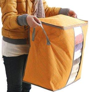 Boîte de rangement vente chaude organisateur portable non tissé Underbed Pouch sac de rangement boîte 9 juillet