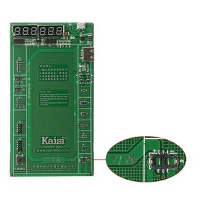 5PCS LOT Kaisi K9208 Professional Battery Activation Board Plate Charging Cable Jig for iPhone 7 Plus 7 6s 6 5s 5 4s 4