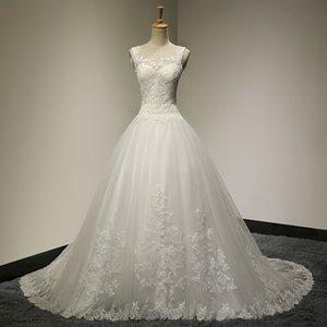 Robe De Mariee Ball Gown Princess Wedding Dresses Fashion Bridal Wedding Gowns Vestido De Casamento LW040
