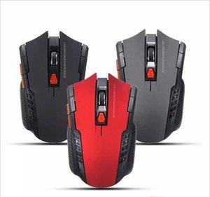 새로운 2.4 Ghz 미니 휴대용 무선 광학 마우스 2000 DPI USB 조정 가능한 게임 전문 게임 마우스 마우스 PC 노트북