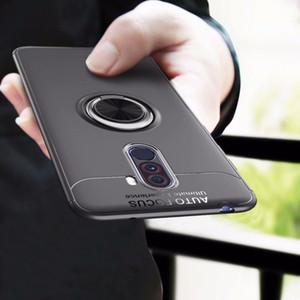 Poco телефон F1 чехол 6,18-дюймовый стенд кольцо палец держатель чехол для телефона для Xiaomi Pocophone F1 F 1 полный защитный чехол
