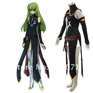 Code Geass R2 C.C Cosplay Costume