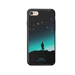 For iphone 7 8 Case, Luminous Effect PC Case Ultra Thin Anti-bump case Glow In The Dark Fluorescent case for iphone 7 8