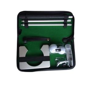 Golf Gift Box Set Asta in alluminio a tre sezioni Asta di spinta Sfera di sabbia Resistente all'usura Qualità sportiva Buono 50bs dd