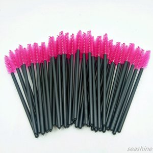 SEASHINE BEAUTY 50pcs Maquillage pinceaux maquillage maquillage mascara