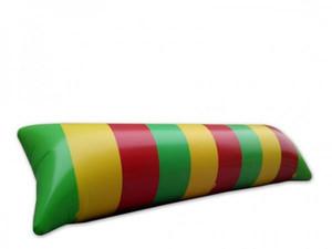 Freies Verschiffen 10x3m Aufblasbare Wasser-Klecks-Sprungkissen-Klecks-Katapult-aufblasbares springendes Kissen-Wassertrampolin
