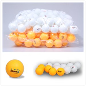 REGAIL 50pcs lot 3 Star Table Tennis Ball X Celluloid 40 mm Rubber Yellow White Ping Pong Ball Training Table Tennis Balls
