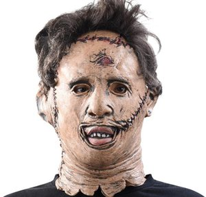 Scary Movie Cosplay Mask The Texas Chainsaw Massacre Leatherface Horror Máscaras High Quality Halloween Costume Props