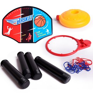 Kids Toy Mini Basketball Hoops Set Stands de regalo ajustables con juguetes inflables Niños Outdoor Sports Accessory Toy Balls YH-17