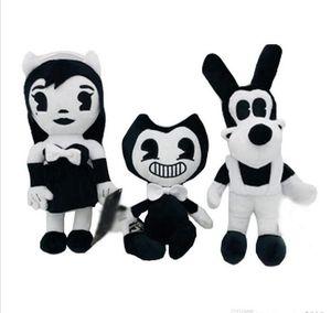 Бенди Борис Алиса Ангел плюшевые куклы чернила машина мягкие чучела триллер рисунок игрушки для детей взрослых Рождество Хэллоуин подарки 30 см