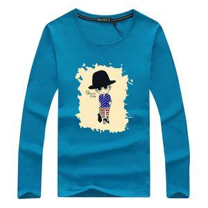 brand t shirt men 2018 new Fashion Cute Man Pattern Printed Fashionable Round Neck T-shirts Men's short sleeve T-shirt M-5XL Free Shipping