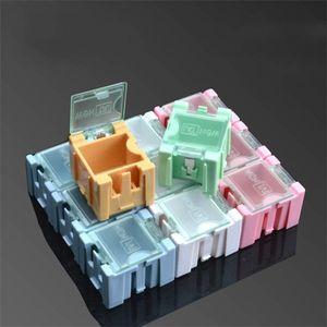 Mini Caja de Almacenamiento Práctico Multifunción SMD SMT Parte Electrónica Caja de Joyería Durable de Colores de Alta Calidad 3 4gl4 ii
