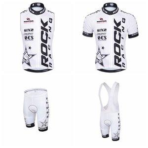ROCK RACING Cyclisme court jersey manches (bavette) short manches Gilet fixe F072223 extérieur Respirant rapide Riding sec