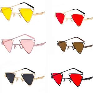 Dreidimensionale hohle Gläser des neuen Entwurfs der Sonnenbrillenpunkart des neuen Sonnenbrillen 2018 personalisierte freie Verschiffen des heißen Verkaufs der Metallsonnenbrille