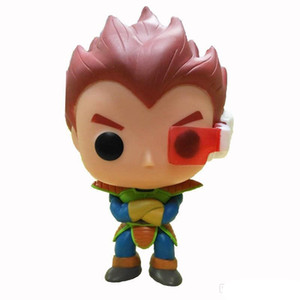 Promotion gift Funko Pop Dragon Ball Z Goku Super Saiyan God Planet Arlia Vegeta Vinyl Action Figure With Box #184 Gift