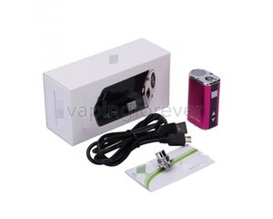 Mini 10w scatola Mod 1050mah batteria piccola dimensione Mini 10w batteria elettronica Mods 4 colori con connettore USB 510 per cartucce di vape