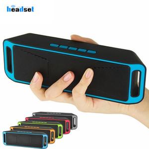 SC208 мини Портативные беспроводные динамики Bluetooth горячие продажи беспроводной громко музыкальный плеер большой мощности сабвуфер поддержка TF USB FM-радио