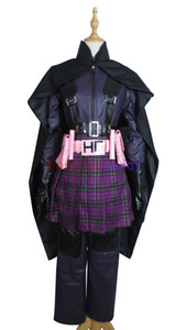 Kick Ass Hit Girl Costume Suit Outfit Carnival Anime Halloween Cosplay Costume L005