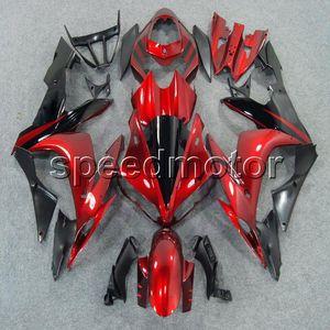 Custom + Vis rouge Corps Kit YZFR1 04-06 YZF-R1 2004 2005 2006 ABS moto carénages pour Yamaha