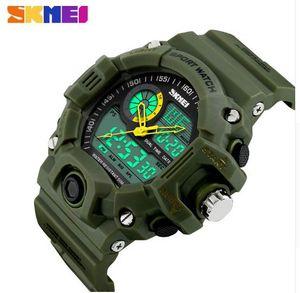 SKMEI Men Sports Watches Digital Quartz LED Military Watch Multifunctional Wristwatches Relogio Masculino