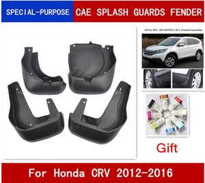 4Pcs Set Car Mudflaps Splash Guards Mud Flap Mudguards Fender For Honda CR-V CRV 2012 2013 2014 2015 2016