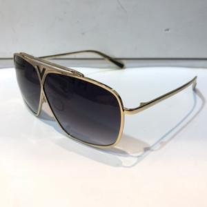 Роскошные 0028 солнцезащитные очки для унисекс мода площади дизайн УФ-Защита объектива покрытие зеркало объектив цвет покрытием кадра поставляются с пакетом