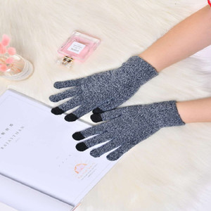 Men and women mobile phone touch screen gloves outdoor sports riding warm gloves winter ski windproof gloves