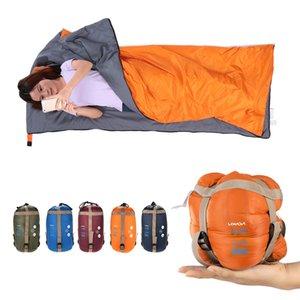 LIXADA 190*75 cm Umschlag Schlafsack Erwachsene Camping Outdoor Mini Walking Strand Schlafsäcke Ultraleicht Reisetasche Frühling Herbst