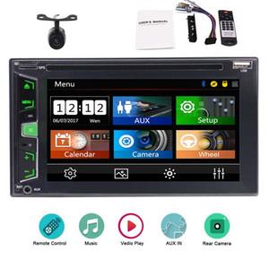 """6.2 """"자동차 DVD 플레이어 GPS를 사용하지 않음 Dash Double 2 Din Car Radio 자동 비디오 오디오 Bluetooth 음악 감상 시스템"""