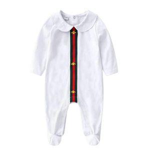 2018 novo bebê meninas meninos roupas bonito dos desenhos animados do bebê romper algodão de alta qualidade de uma peça macacão de bebê recém-nascido menina roupas