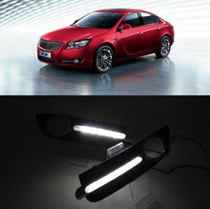 DRL gündüz 2009 2010 2011 2012 2013 Opel Buick Regal için ışık Sis Lambası Gün Işığı gün ışığı sis lambası kapağı çalışan