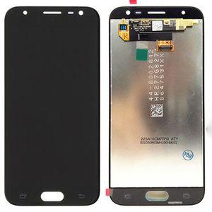 5.0 Pantalla LCD de pantalla digitalizador Asamblea para Samsung Galaxy Pro J3 2017 J330 Con ajuste de brillo azul